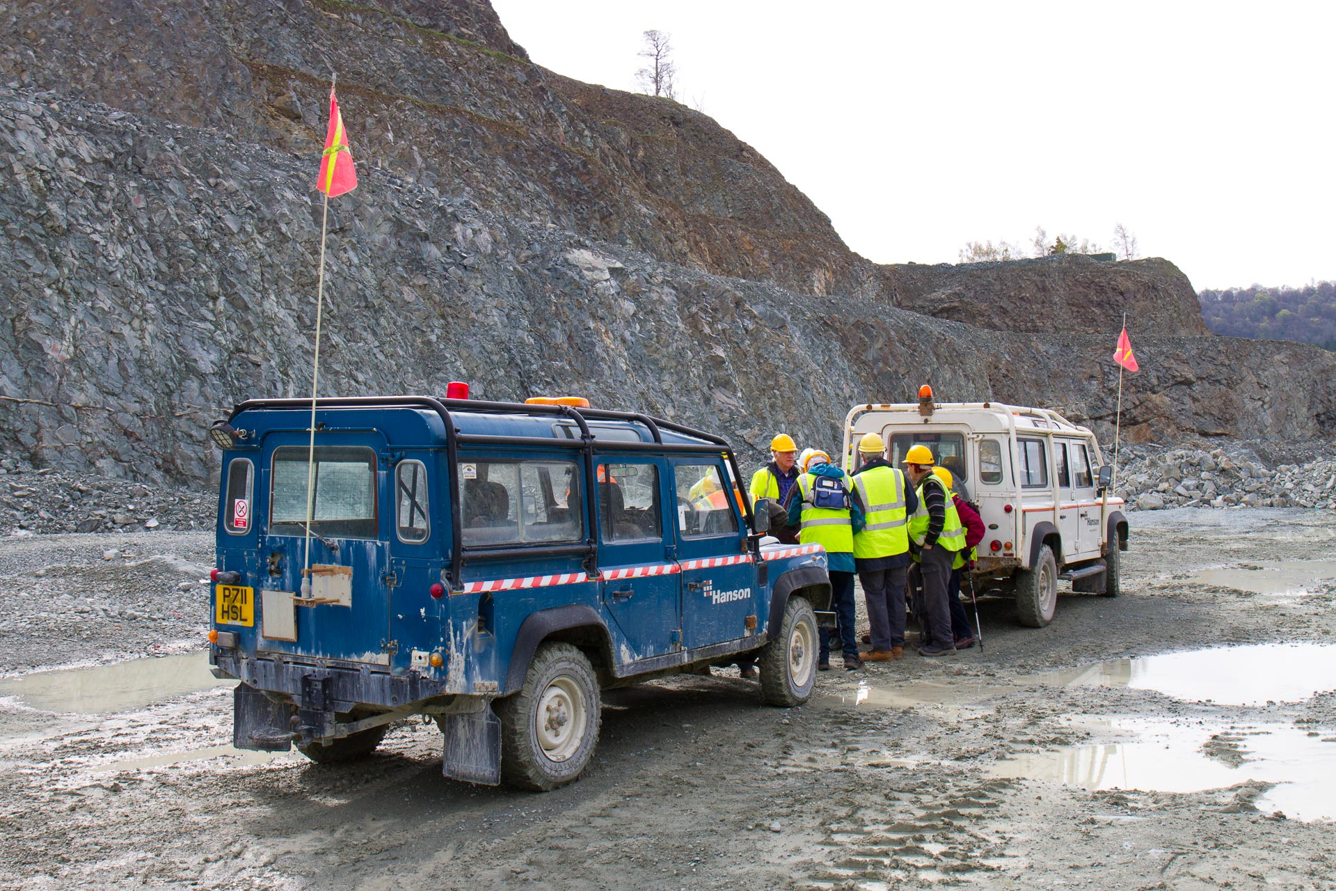 Visit to Criggion Quarry 2018
