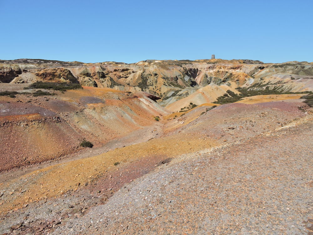 Parys Mountain - disused copper mine