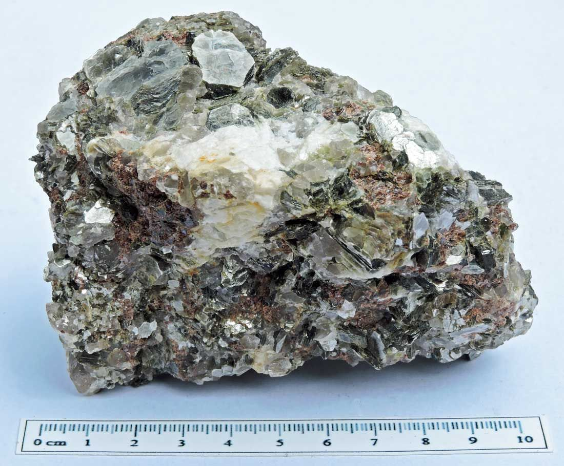 Garnet with Muscovite mica