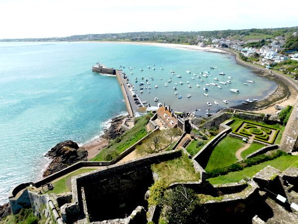 A visit to Jersey -- view from Gouray Castle
