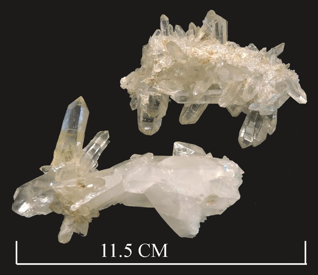 Quartz ( var. floater )
